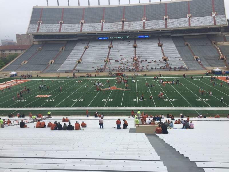 Seating view for Texas Memorial Stadium Section 28 Row 51 Seat 25