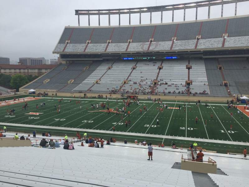Seating view for Texas Memorial Stadium Section 27 Row 56 Seat 25