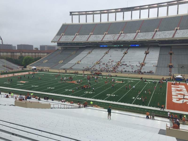Seating view for Texas Memorial Stadium Section 26 Row 56 Seat 25