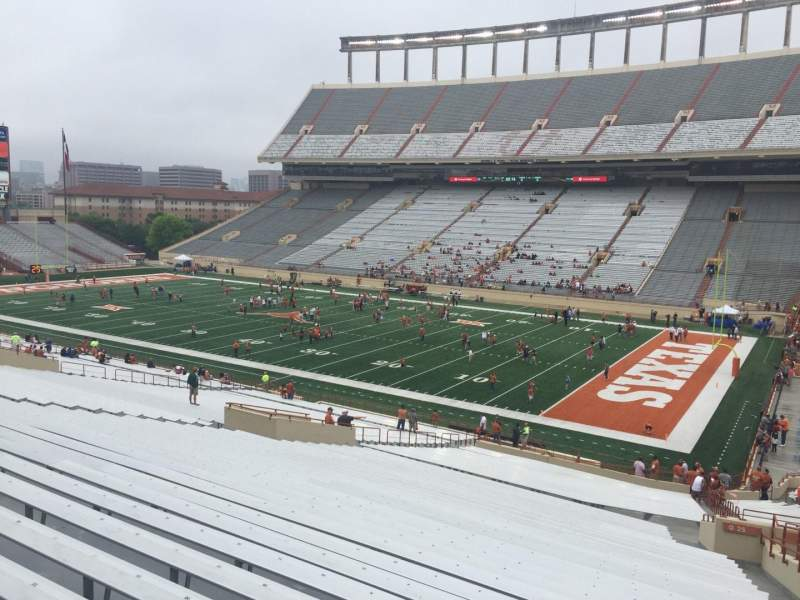 Seating view for Texas Memorial Stadium Section 25 Row 51 Seat 25