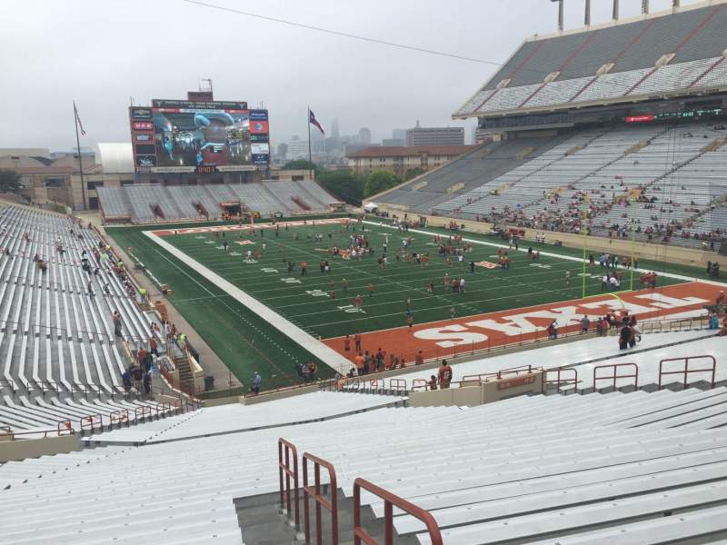 Seating view for Texas Memorial Stadium Section 18 Row 51 Seat 25