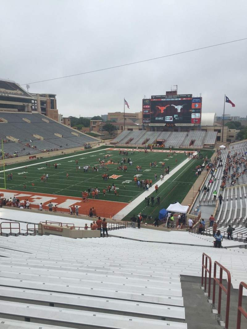 Seating view for Texas Memorial Stadium Section 14 Row 51 Seat 28