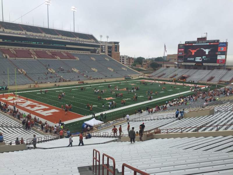 Seating view for Texas Memorial Stadium Section 13 Row 47 Seat 25