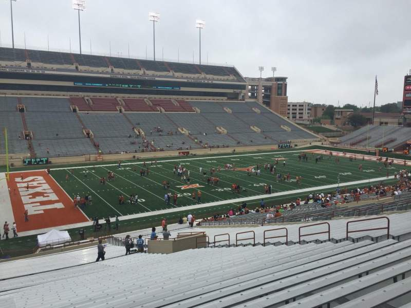Seating view for Texas Memorial Stadium Section 9 Row 51 Seat 25