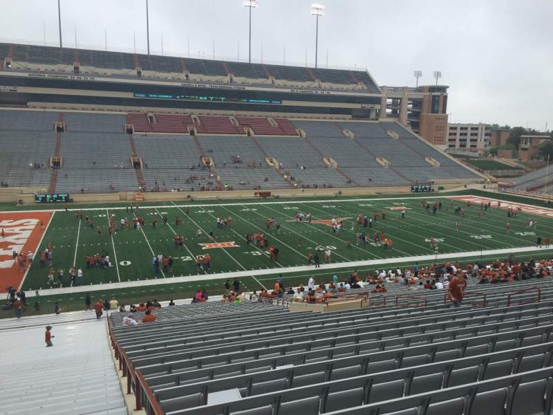 Seating view for Texas Memorial Stadium Section 8 Row 51 Seat 2