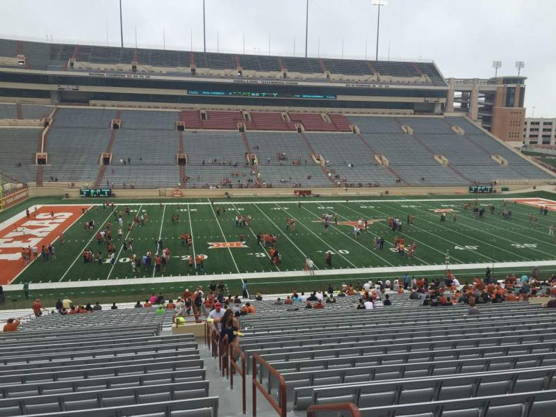 Seating view for Texas Memorial Stadium Section 7 Row 51 Seat 10