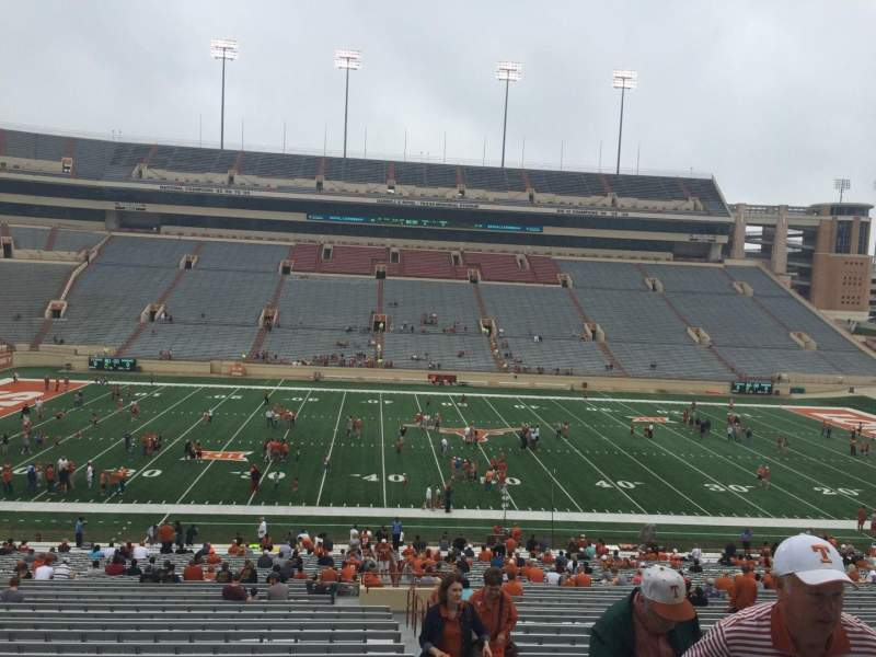 Seating view for Texas Memorial Stadium Section 6 Row 51 Seat 25