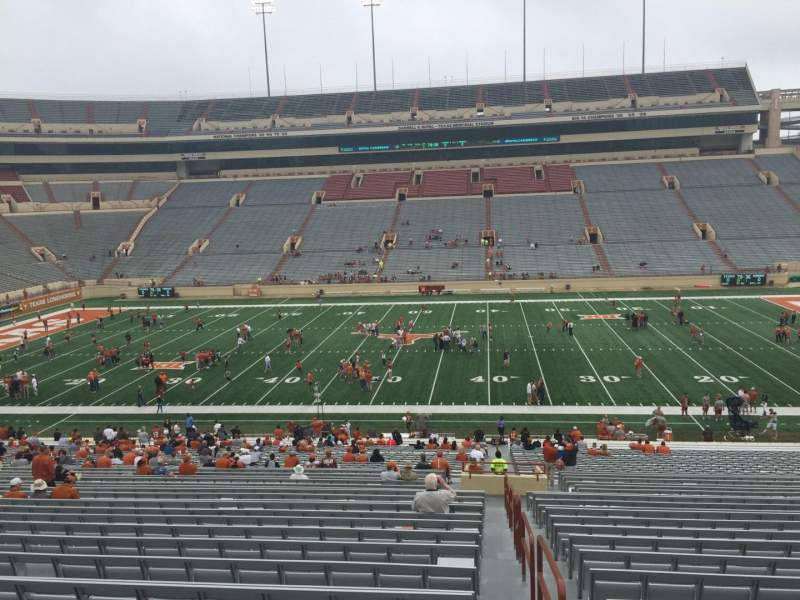 Seating view for Texas Memorial Stadium Section 5 Row 51 Seat 25