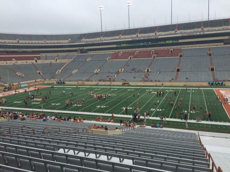 Seating view for Texas Memorial Stadium Section 3 Row 51 Seat 2