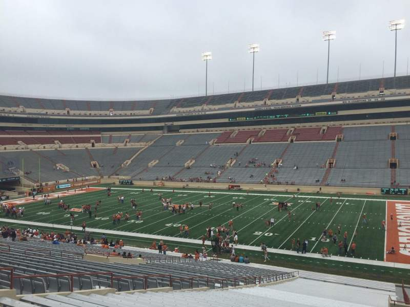 Seating view for Texas Memorial Stadium Section 2 Row 51 Seat 10