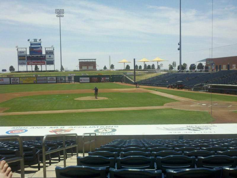 Seating view for Momentum Bank Ballpark Section 7 Row O Seat 2