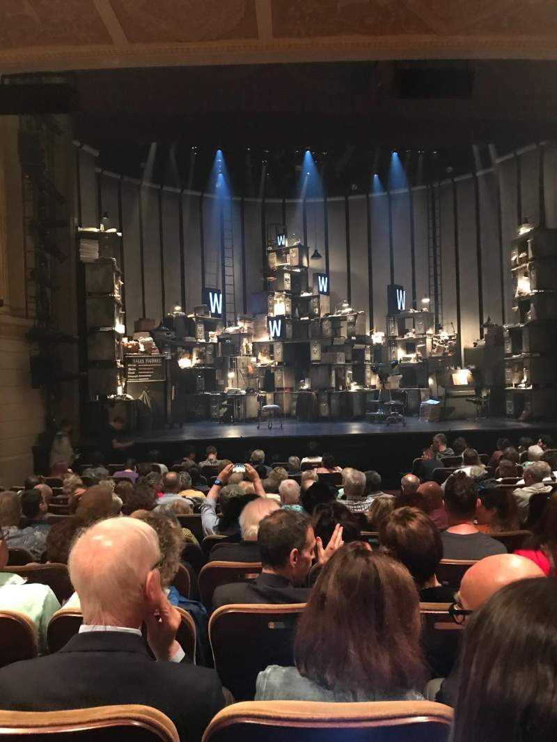 Seating view for Samuel J. Friedman Theatre Section Orchestra L Row M Seat 107