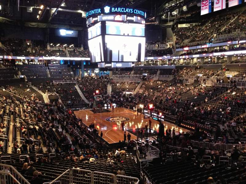 Seating view for Barclays Center Section 118 Row 7 Seat 7