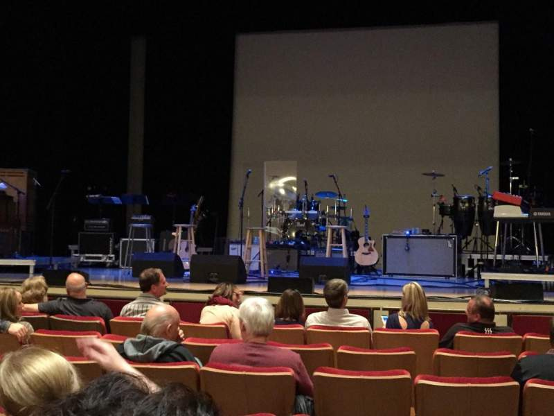 Seating view for Woodruff Arts Center Section Orchr Row D Seat 17