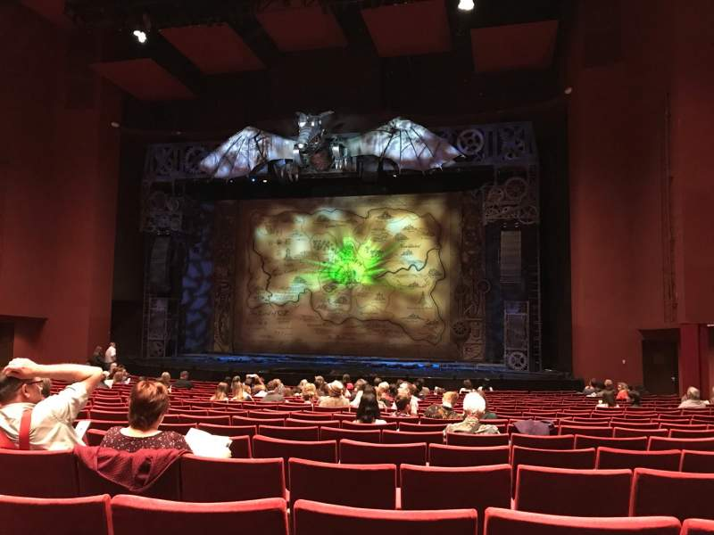 Seating view for San Diego Civic Theatre Section Orchestra 2 Row S Seat 28
