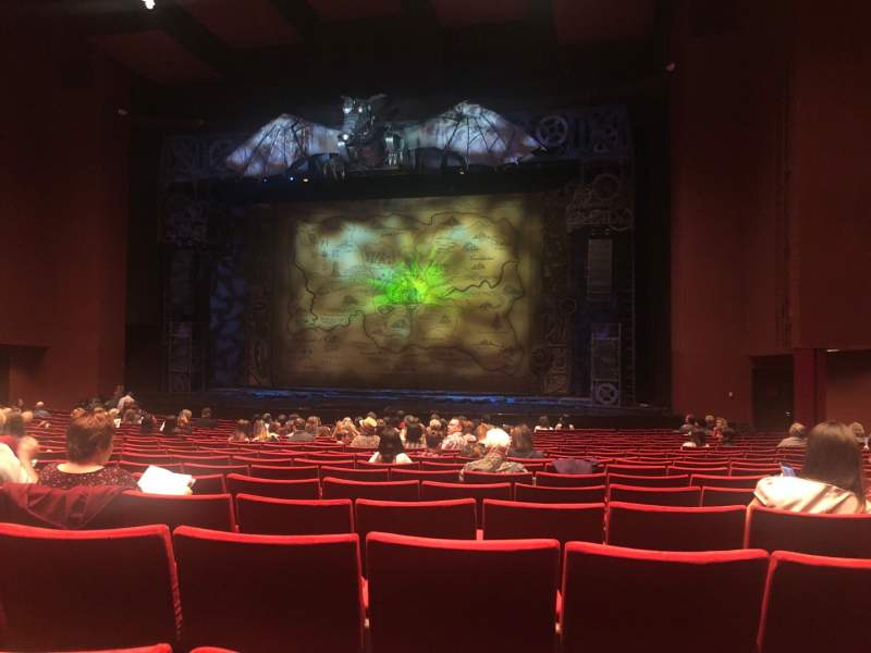 Seating view for San Diego Civic Theatre Section Orch2 Row S Seat 30