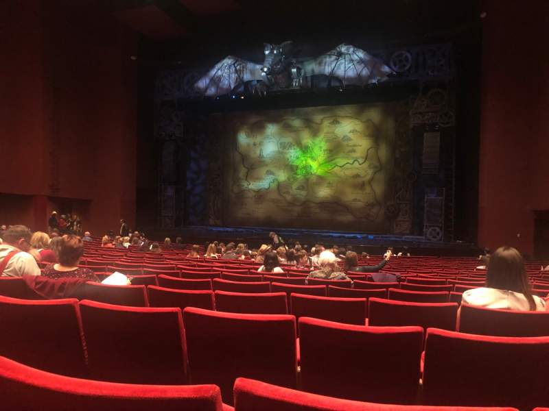 Seating view for San Diego Civic Theatre Section Orchestra 2 Row S Seat 32