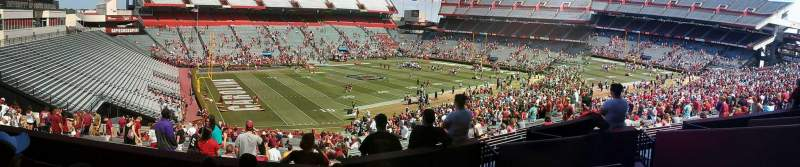 Seating view for Williams-Brice Stadium Section 101