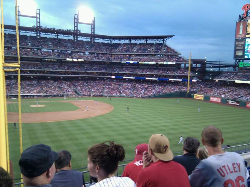 Seating view for Citizens Bank Park Section 204 Row 4 Seat 17