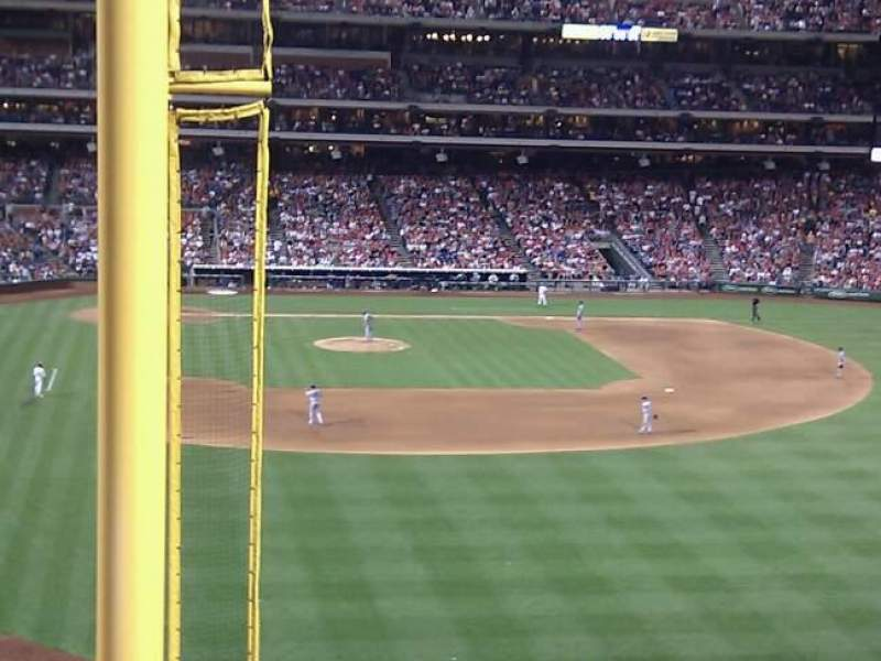 Seating view for Citizens Bank Park Section 205 Row 4 Seat 16