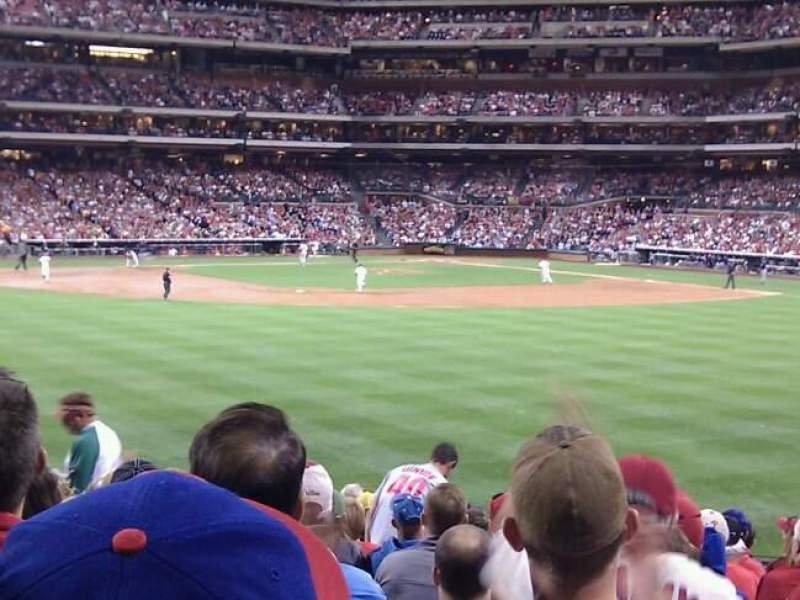 Seating view for Citizens Bank Park Section 147 Row 18 Seat 11