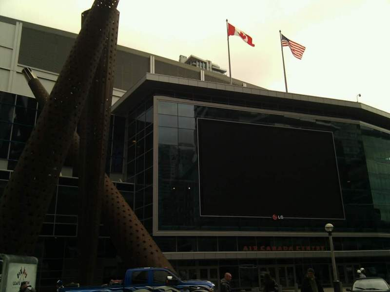 Seating view for Air Canada Centre Section Outside