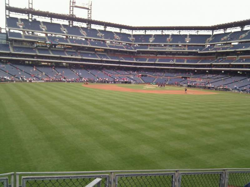 Seating view for Citizens Bank Park Section 148 Row 14 Seat 11
