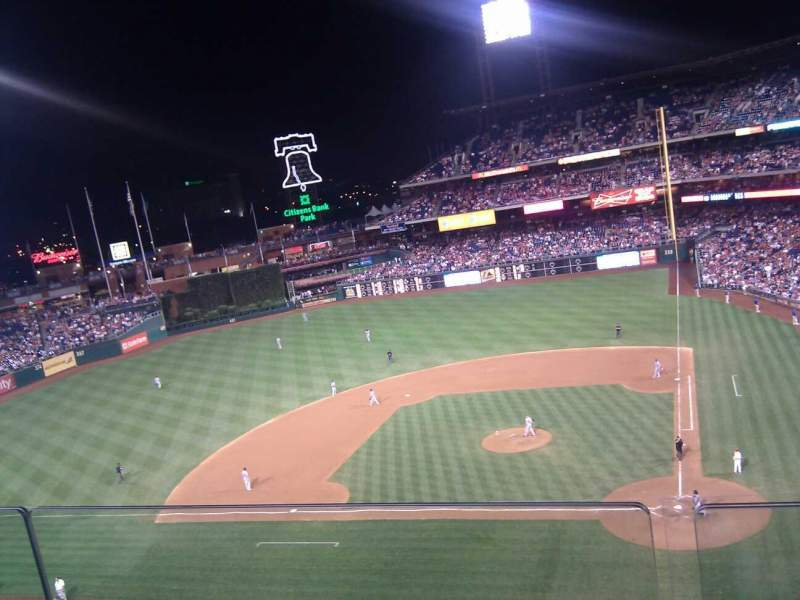 Citizens Bank Park, section: 324, row: 2, seat: 12