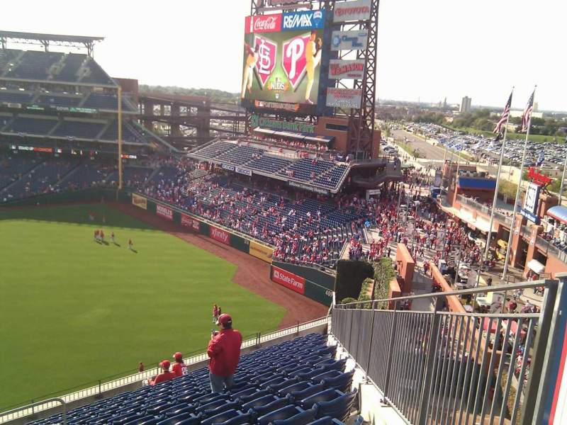Seating view for Citizens Bank Park Section 301 Row 14 Seat 24