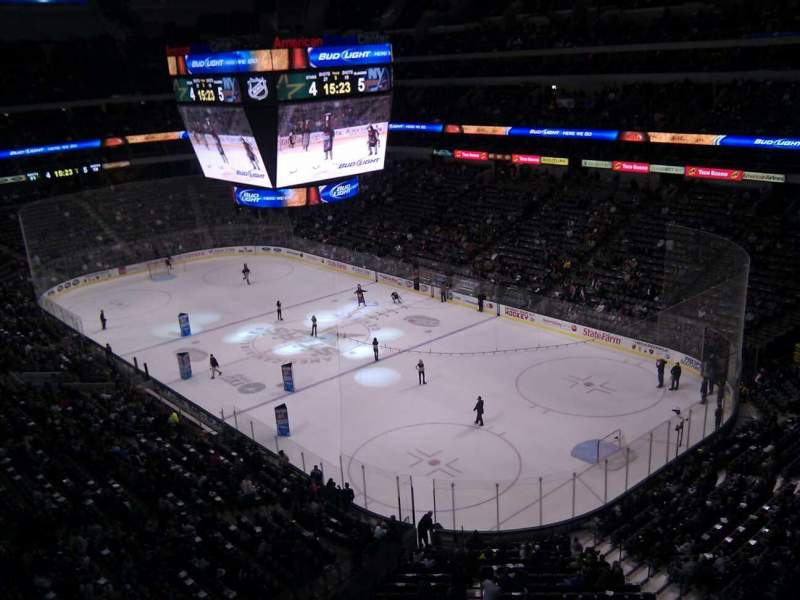 Seating view for American Airlines Center Section 320 Row b Seat 15