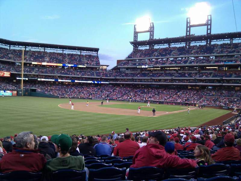 Seating view for Citizens Bank Park Section 137 Row 27 Seat 16