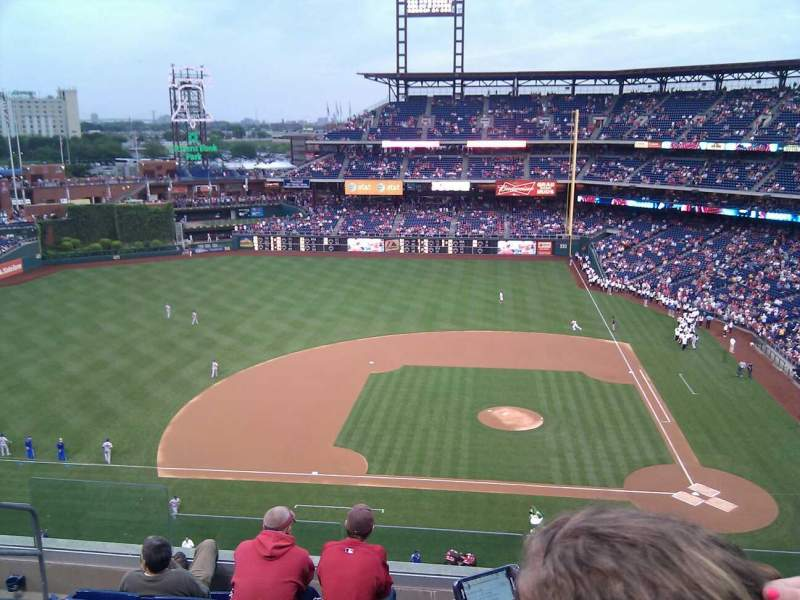 Seating view for Citizens Bank Park Section 325 Row 7 Seat 19