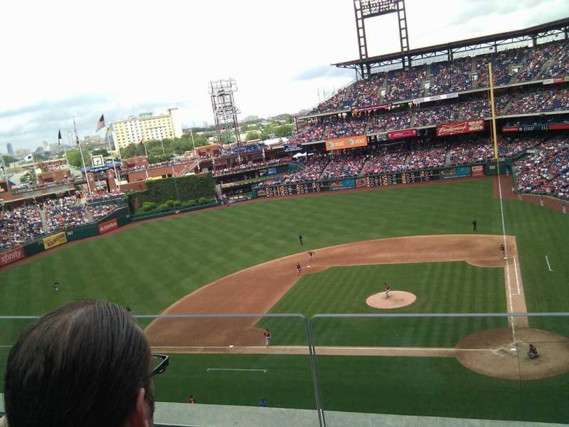 Seating view for Citizens Bank Park Section 324 Row 2 Seat 17