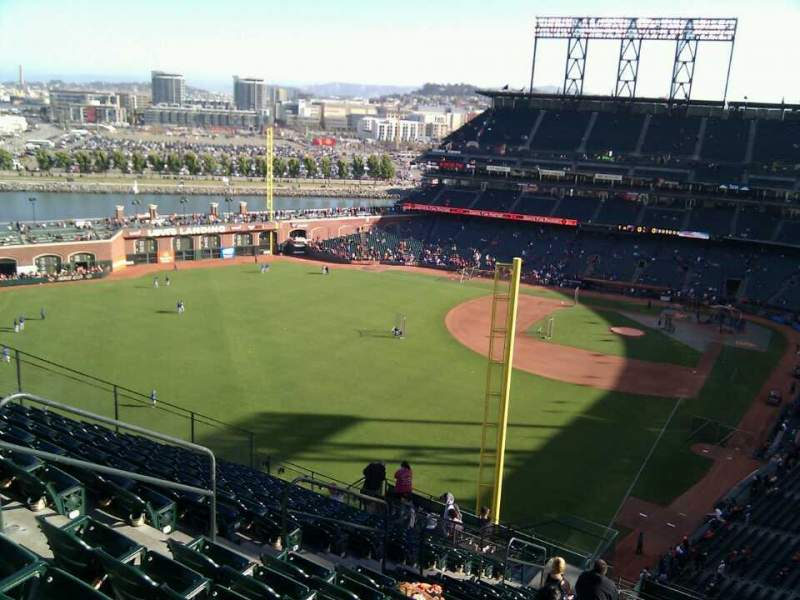 Seating view for AT&T Park Section 335 Row 15 Seat 13