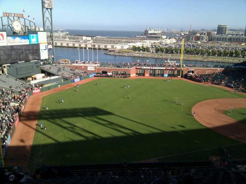 Seating view for AT&T Park Section 330 Row 13 Seat 16