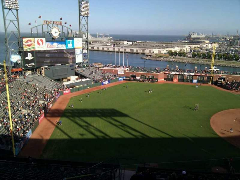 Seating view for AT&T Park Section 328 Row 15 Seat 24