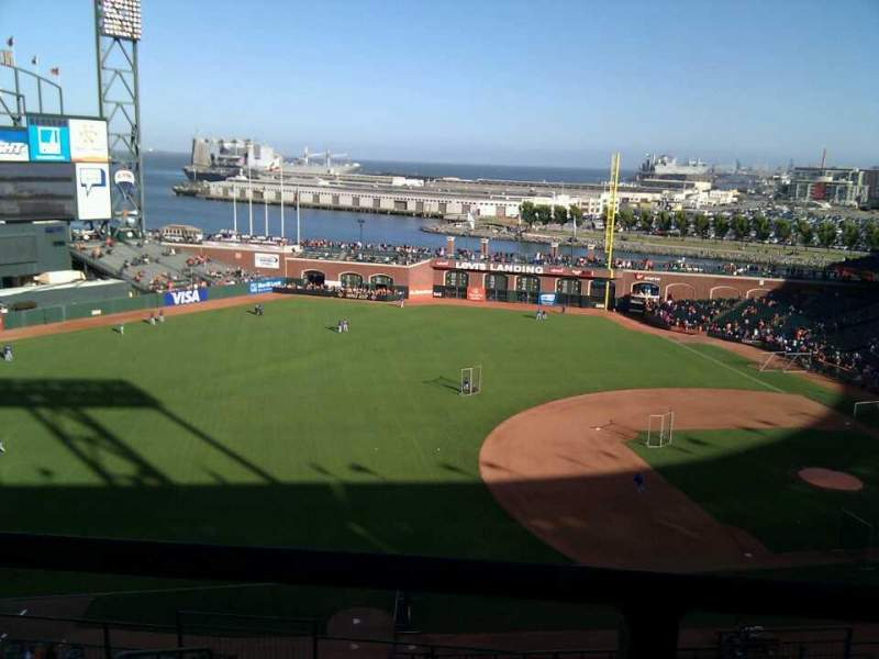 Seating view for AT&T Park Section 326 Row 00 Seat 6