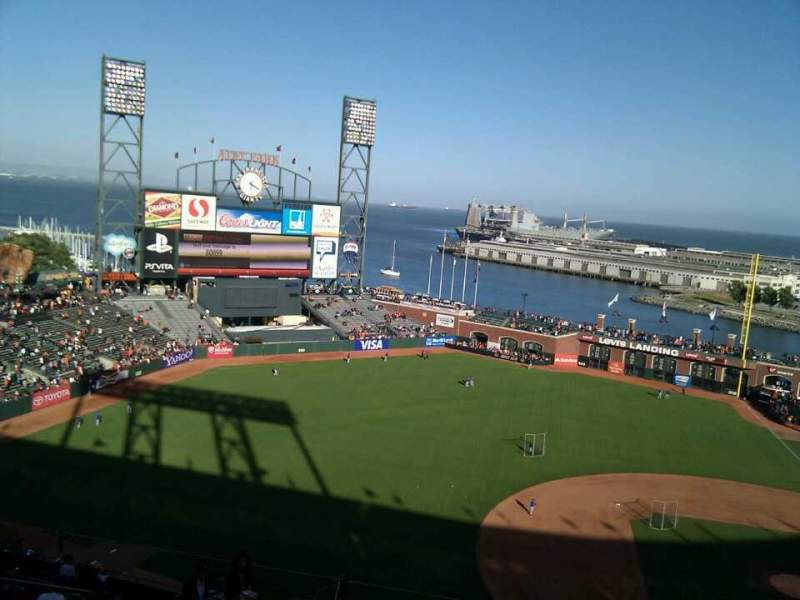 Seating view for AT&T Park Section 324 Row 12 Seat 16