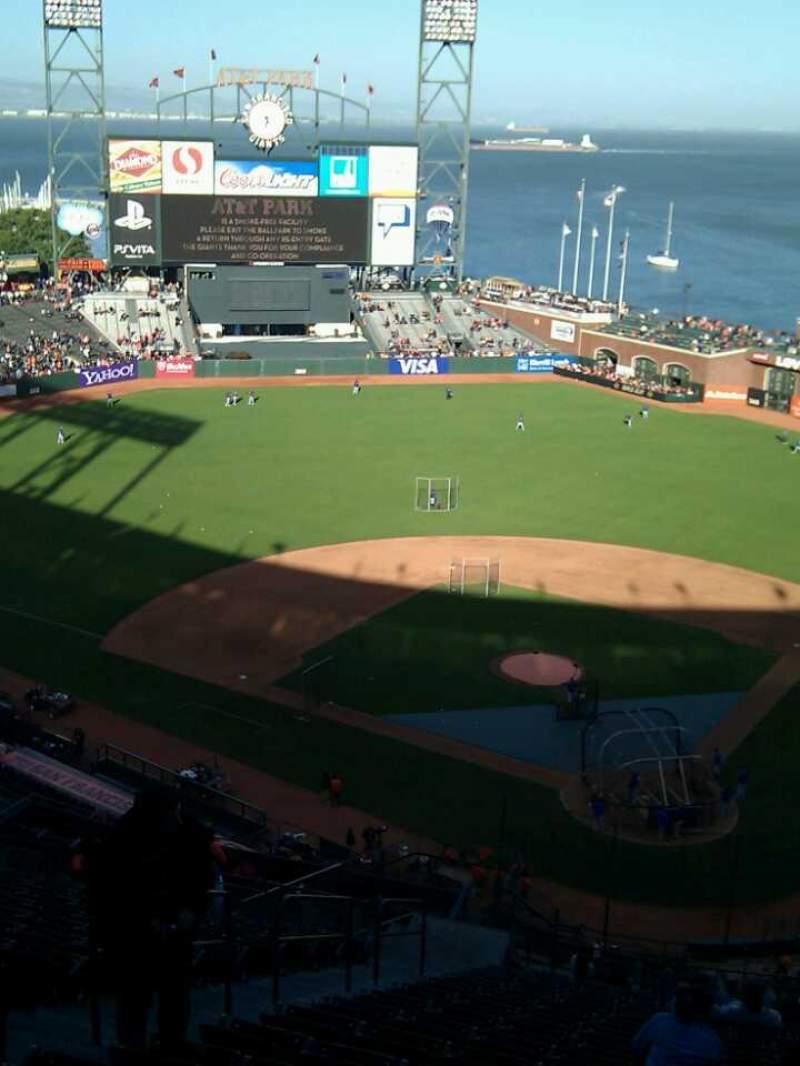 Seating view for AT&T Park Section 318 Row 16 Seat 13