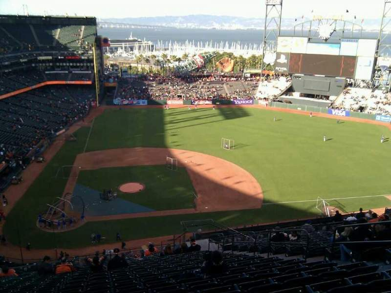 Seating view for AT&T Park Section 310 Row 17 Seat 8