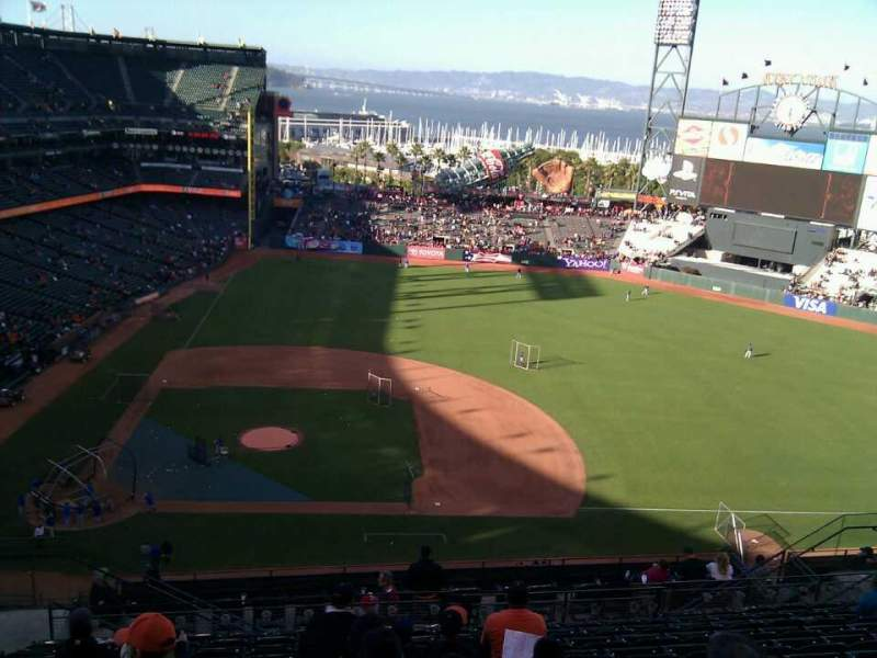 Seating view for AT&T Park Section 308 Row 12 Seat 19