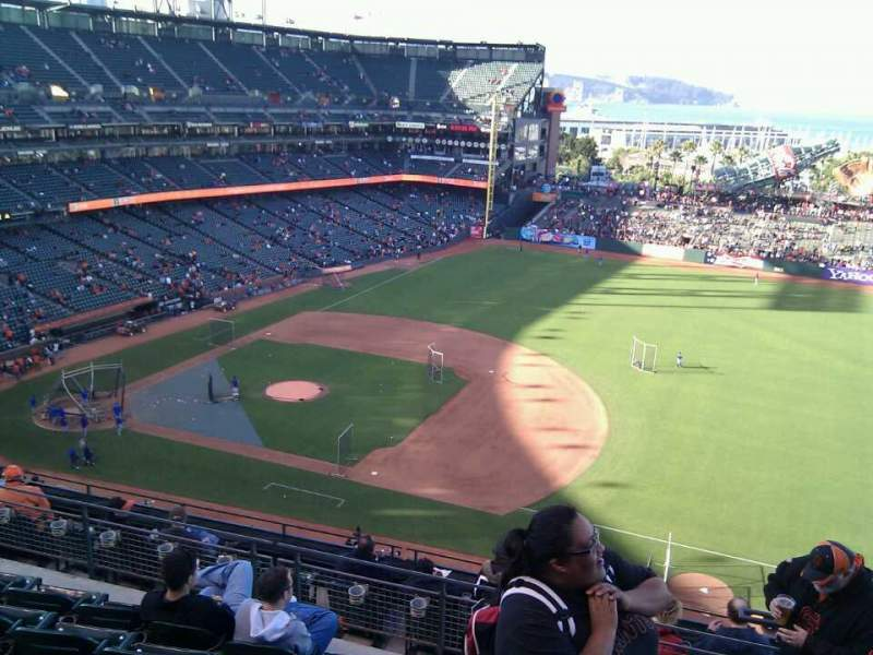 Seating view for AT&T Park Section 305 Row 5 Seat 3