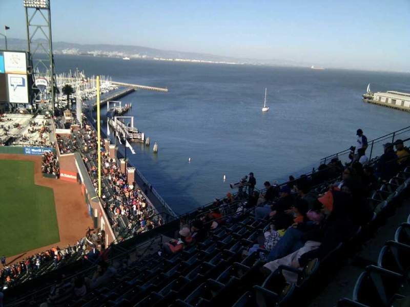 Seating view for AT&T Park Section 304 Row 10 Seat 17