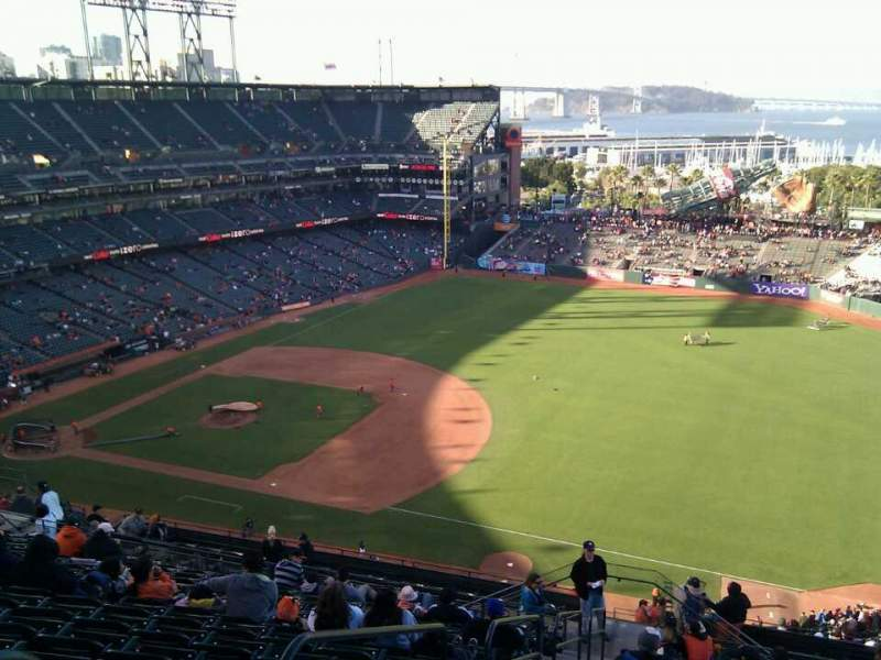 Seating view for AT&T Park Section 302 Row 25 Seat 3