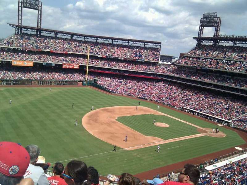 Seating view for Citizens Bank Park Section 330 Row 8 Seat 10