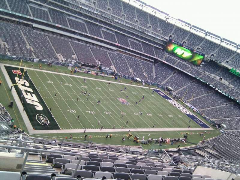Seating view for MetLife Stadium Section 319 Row 16 Seat 20