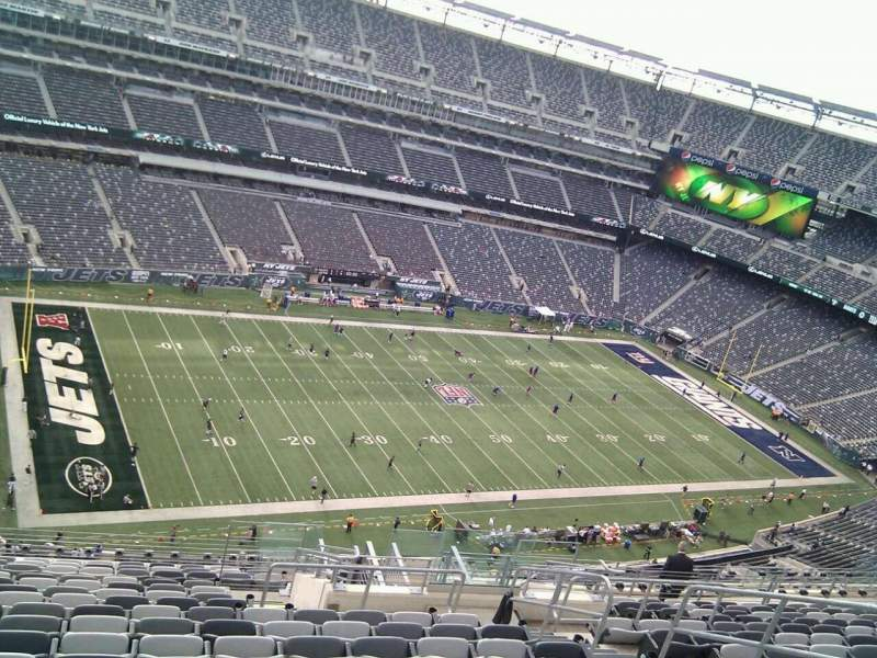 Seating view for MetLife Stadium Section 318 Row 20 Seat 8