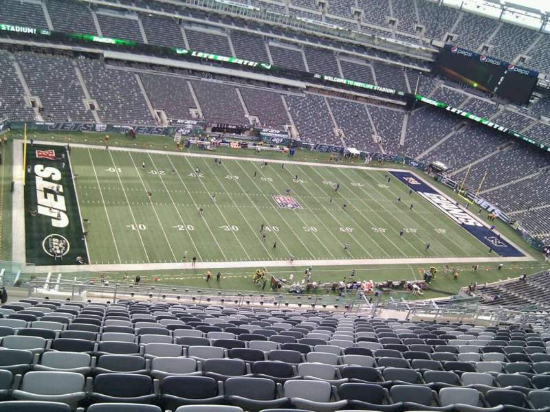 Seating view for MetLife Stadium Section 317 Row 26 Seat 25