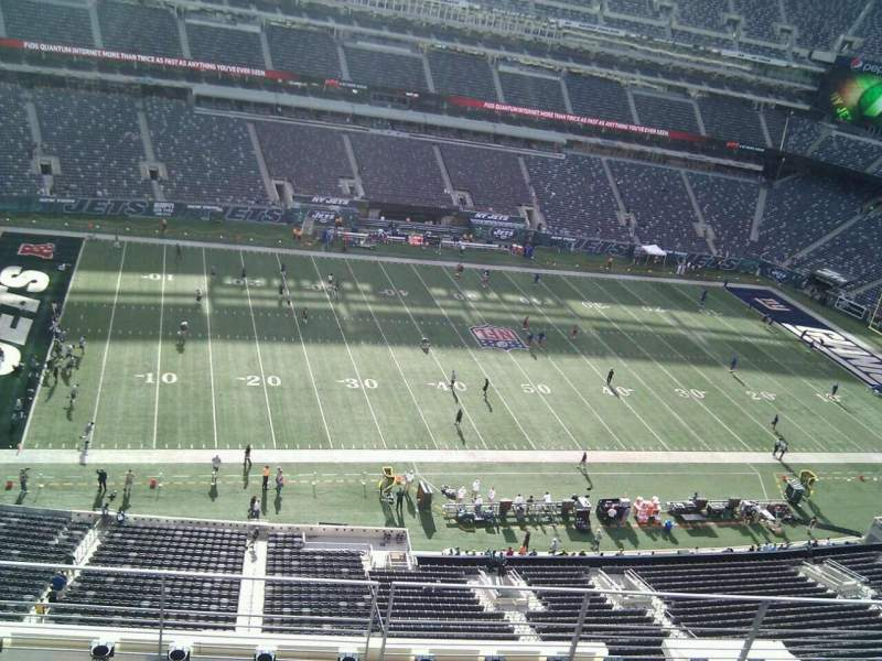 Seating view for MetLife Stadium Section 316 Row 5 Seat 13