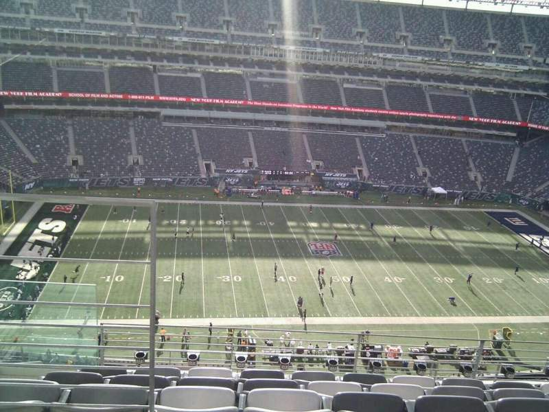 Seating view for MetLife Stadium Section 315 Row 10 Seat 18